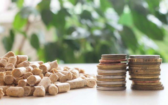 Quanto si risparmia con il pellet