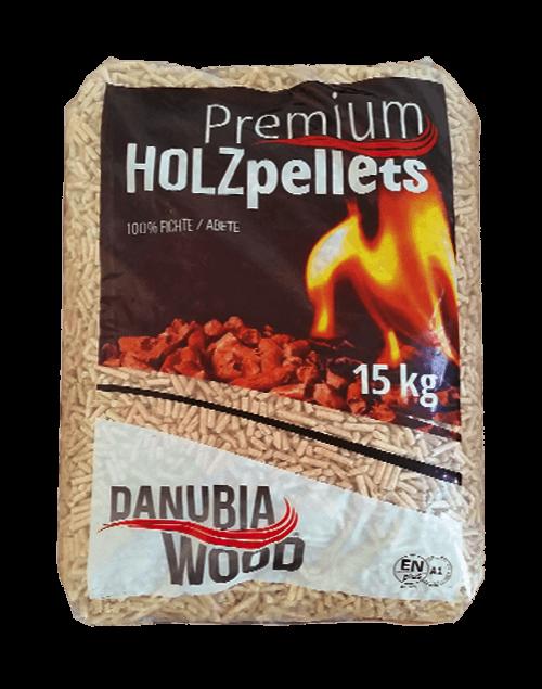 Vendita all'ingrosso di pellet Danubia Wood Yellow